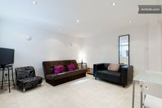 Modern One Bedroom Apartment in Greater London Greater London, One Bedroom Apartment, Rental Apartments, Perfect Place, Couch, Storage, Modern, Furniture, Home Decor