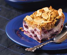 Tre Stelle® Recipes - Blueberry Ricotta Dessert Lasagna