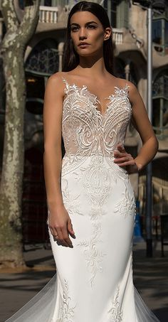 Milla Nova Bridal 2017 Wedding Dresses bler3 / http://www.deerpearlflowers.com/milla-nova-2017-wedding-dresses/9/