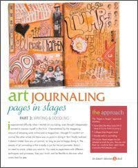 Image result for how to make an art journal page