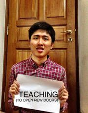 He would be a teacher if he were given the right skills What You Can Do, Singapore, Campaign, Youth, Teacher, Education, Inspiration, Professor, Biblical Inspiration