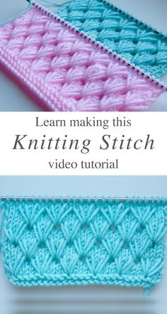 Pistachio knitting that you should learn easily CrochetBeja - Knitting Stitch . - Pistachio knitting that you should learn easily CrochetBeja – knitting stitch that you should lea - Knitting Terms, Knitting Stiches, Knitting Videos, Knitting Patterns Free, Knit Patterns, Knit Stitches, Knitting Tutorials, Loom Knitting, Knitting And Crocheting