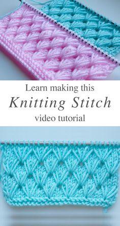 Pistachio knitting that you should learn easily CrochetBeja - Knitting Stitch . - Pistachio knitting that you should learn easily CrochetBeja – knitting stitch that you should lea - Knitting Terms, Knitting Stiches, Knitting Videos, Knitting Patterns Free, Knit Patterns, Free Knitting, Crochet Stitches, Knit Crochet, Crochet Granny