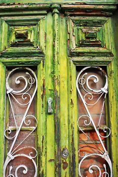 Ironwork door