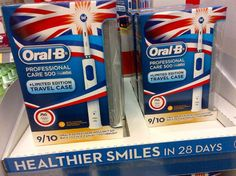 Brush up olympic-style with Oral B's patriotic toothbrushes! Dental, Flag, Style, Swag, Science, Teeth, Flags, Dentist Clinic, Outfits