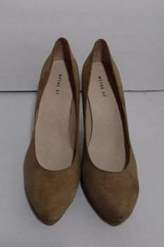df69aa233ff Wythe NY DARBY TAUPE High Heels Pumps Suede size 40  fashion  clothing   shoes  accessories  womensshoes  heels (ebay link)