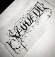 Day19 #desafiomaldito @caligrafiamalditacrew **Saudade** #lettersbymfo Galera que quer uma tatuagem única com diversas formas de letras ou até mesmo procura uma letra pra estampa ou qualquer algo do gênero liga noiz !! 🙌🏾🔥