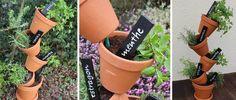 Fabriquez une jardinière verticale pour vos plantes aromatiques  Tuto réalisé par Stéphaniebricole.com