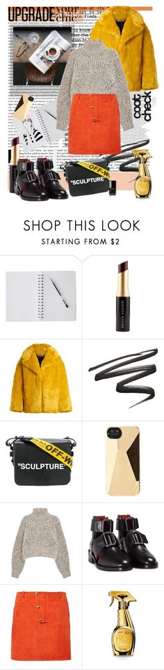 """""""Fashion Wednesday"""" by katartrina ❤ liked on Polyvore featuring Kevyn Aucoin, Diane Von Furstenberg, Polaroid, Off-White, Marc by Marc Jacobs, Isabel Marant, 3.1 Phillip Lim and Moschino"""