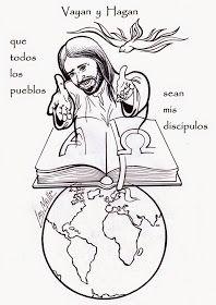 Fichas para conocer los Evangelios jugando:                         Colorea y aprende los libros que componen...