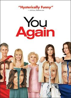 Jamie Lee Curtis, Sigourney Weaver, Kristen Bell, Betty White, and Odette Annable in You Again Funny Movies, Great Movies, Hd Movies, Girly Movies, Movies To Watch, You Again Movie, See Movie, Movie Tv, Movies Showing