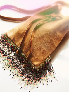 Eni Fringe Pouch at Free People Clothing Boutique