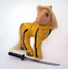 Badass pony -- you go, girl!