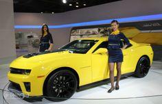 New 2014 Chevrolet Camaro unveiled !