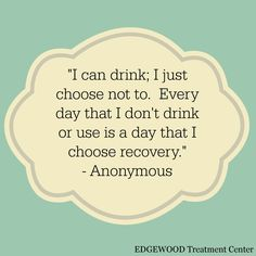 Choose #recovery. www.edgewood.ca www.edgewoodhealthnetwork.com