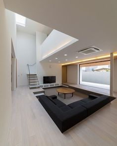 BROWN LIVING ROOM IDEAS – Let's make this year as the year of simplicity. We can start realizing the goal by working on brown living room ideas. Brown has earned a reputation as . Read Gorgeous Brown Living Room Ideas 2020 (For Your Inspiration) Modern House Design, Modern Interior Design, Interior Architecture, Luxury Interior, Living Room Ideas 2019, Living Room Designs, Sunken Living Room, Living Area, Living Rooms