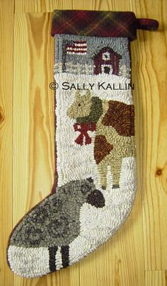 Pine Island Primitives - Seasonal Rug Hooking Designs by Sally Kallin