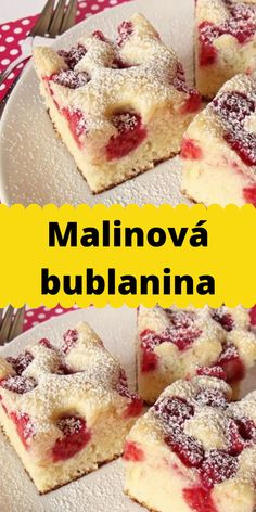 Czech Recipes, Tasty, Yummy Food, Vegetarian Recipes, Cereal, French Toast, Cheesecake, Muffin, Food And Drink