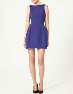 New collection - ZARA - TULIP DRESS - StyleSays