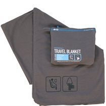 40$ Flight 001 Emergency Travel Blanket - Charcoal