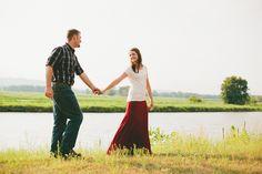 David + Kayla : engaged || La Crosse, WI