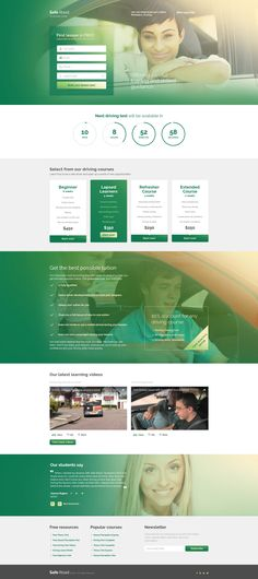 Traffic School Responsive Landing Page Template - http://www.templatemonster.com/landing-page-template/traffic-school-responsive-landing-page-template-58963.html