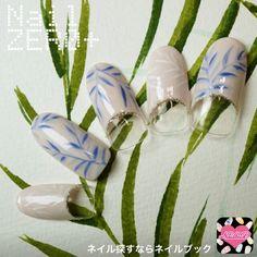 アンティーク陶器みたいなクレイネイル(nail_zeroplus)