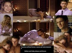 Nathan and Haley are an amazing couple. Their relationship was always one of my favorite things about One Tree Hill. :)