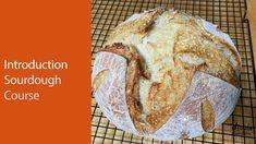Sourdough Bread Course for Absolute Beginners : How to Make Sourdough Br. Bun Recipe, Rolls Recipe, Bread Recipes, Baking Recipes, Baking Courses, Pretzels Recipe, Monkey Bread, Sourdough Bread, Bread Baking