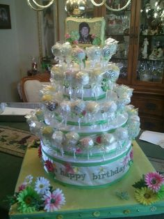 @Huey Colonna,  80th Birthday Cake Favors - check out my pin re: marshmallows, I can do those if you do the tags or display! Think about it...