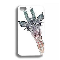 Elonbo J2S belle couverture de girafe arrière dur pour iPhone 4/4S – EUR € 3.67 L O V E  I T !