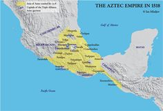 Aztec empire 1518