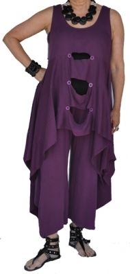 RB purple peek-a-boo outfit