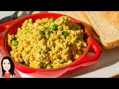 Curry Tofu Scramble - Easy Vegan Breakfast Recipe - YouTube