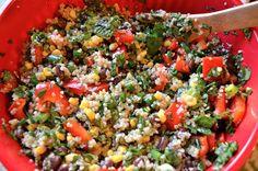 Kristen's Kitchen: Southwest Quinoa Salad