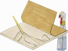 Drywall Carving Lesson Plan: Sculpture Activities and Lessons for Children and Kids: KinderArt ®