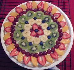Minha Cozinha: Pizza de Fruta