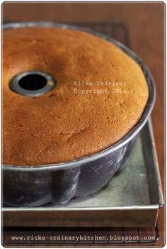 Banana Sponge Cake, Orange Sponge Cake, Banana Cakes, Easy Cake Recipes, Sweet Recipes, Dessert Recipes, Desserts, Financier Cake, Bolu Cake