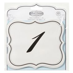Wedding Decorations | Tanle Numbers