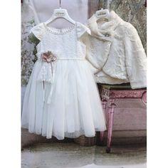 Βαπτιστικό φόρεμα Χειμερινό Dolce Bambini από βαμβακερό και τούλι μοντέρνο-οικονομικό-άνετο, Χειμωνιάτικα βαπτιστικά κορίτσι τιμές-προσφορά, Οικονομικά βαπτιστικά ρούχα-φορέματα Χειμερινά Χειμωνιάτικα, Βαπτιστικά φορέματα τιμές-οικονομικά-προσφορά Girls Dresses, Flower Girl Dresses, Wedding Dresses, Fashion, Dresses Of Girls, Bride Dresses, Moda, Bridal Gowns, Fashion Styles