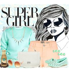 Minty Peach | Women's Outfit | ASOS Fashion Finder