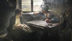 """Ernesto de la Cárcova """"Sin pan y sin trabajo"""" 1894"""