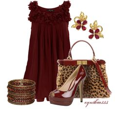 Red Wine, created by cynthia335 on Polyvore