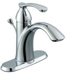 Edgewood 4 Inch Centerset Bath Faucet In Chrome