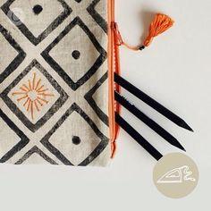 Kumaşa nasıl baskı yapılır? Küçük çantalar nasıl dikilir? Yakında @coccino.craft 'ta! ✂️ How to block print on fabric and sew clutches? Soon @coccino.craft #coccino #handcraftedcuriosities