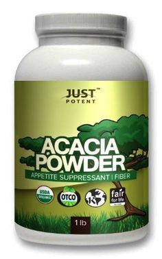 Just Potent Acacia Powder (fille… Nutrition Tips, Health And Nutrition, Acacia Gum, Appetite Control, Diet Challenge, Lower Cholesterol, Reduce Weight, Powder, Fiber