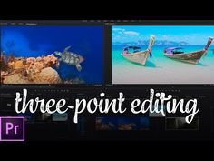 The FASTEST Way to Edit Video (Three-Point Editing) | Premiere Pro Tutorial - YouTube