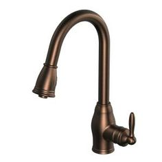 Glacier Bay Newbury Single-Handle Pull-Down Sprayer Kitchen Faucet in Oil-Rubbed Bronze-FP4A0033RBP - The Home Depot