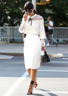 Street style à la semaine de mode de New York printemps-été 2015