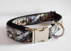 Mossy Oak Camo Dog Collar - The Custom Collar